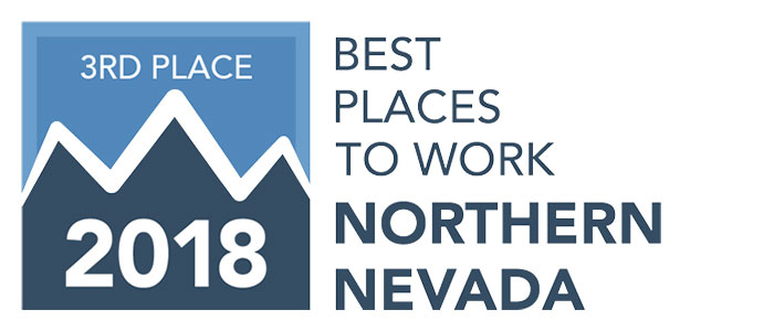 Best Places to Work - 3rd Place 2018
